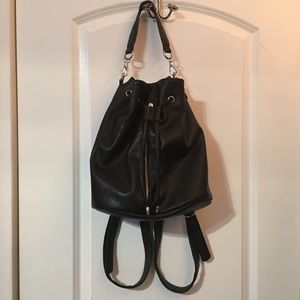 Bucket Bag Mini Backpack